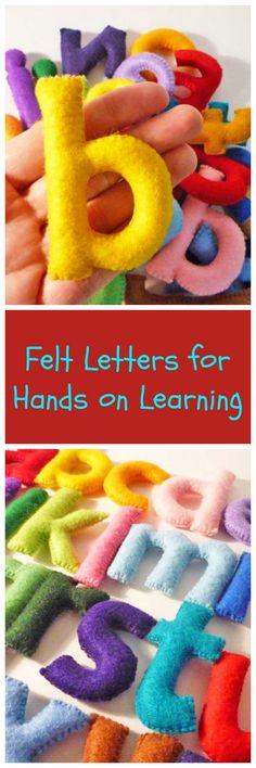 Felt Stuffed Alphabet, Felt letters for kids, Educational Toy. aff.