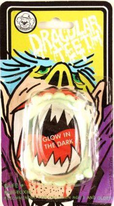 Glow in the Dark Vampire Teeth