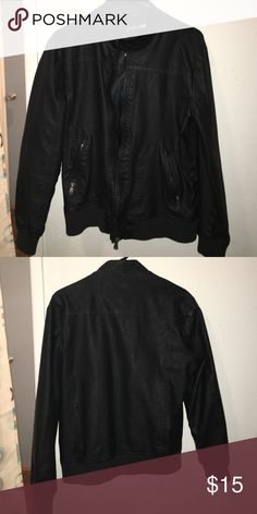 Leather Jacket Leather Jacket from Foreign Exhange. Like new condition! No holes or tears what so ever. Very sleek look. Foreign Exchange Jackets & Coats