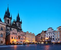 https://flic.kr/p/Tg5BTw | Prague | Czech Republic: Church of Our Lady before Tyn