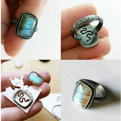 Jewelry Tools, Metal Jewelry, Jewelry Crafts, Jewelry Art, Jewelry Rings, Jewelry Making, Unique Jewelry, Jewellery, Amanda Black