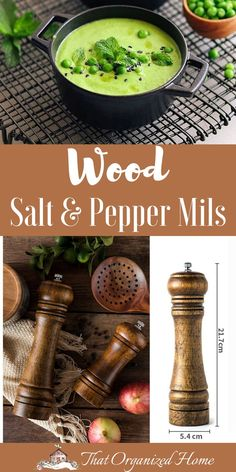 Life in the kitchen is easier when you use the right tool for the task. The perfect blend of classic style and utilitarian efficiency, our sturdy wooden salt shaker is just what you need for everyday cooking and casual dining.#kitchentools #thatorganizedhome #kitchengadgets #woodenkitchenware