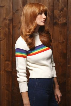 Rainbow Ski Sweater. This is the one we all wanted.