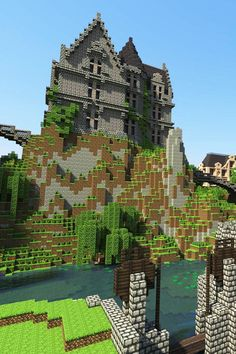 A house that someone built in minecraft #minecraft and really cool