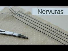 Como fazer nervuras no tecido - YouTube