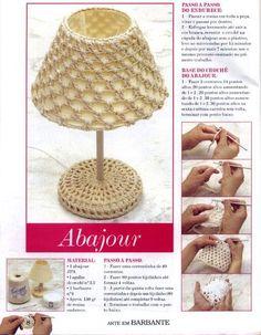 Interesting ideas for decor: Crochet baskets. Crochet Motifs, Crochet Tunic, Crochet Diagram, Freeform Crochet, Crochet Doilies, Crochet Stitches, Crochet Patterns, Crochet Hats, Lampe Crochet