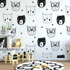 Lovely wallpaper for kids Baby Room, Child Room, Kids Bedroom, Kids Wallpaper, Children, Room Ideas, Design, Home Decor, Home