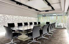 Decorativos - Panele z łusek migdałów Wall panels design Wall Panel Design, Conference Room, Table, Texture, Furniture, Home Decor, Surface Finish, Meeting Rooms, Interior Design