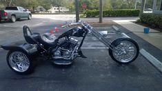 Trike Kits For Harley-davidson Trike Conversion- Irs Trike Kit's - Imc Trike Custom Moped, Custom Trikes, Custom Choppers, Custom Motorcycles, Motorcycle Paint Jobs, Trike Motorcycle, Nissan Pickup Truck, Trike Kits, American Chopper