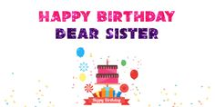 Happy Birthday Sister Gif Images For Whatsapp Birthday Gif For Her, Happy Birthday Auntie, Birthday Wishes For Love, Happy Birthday Princess, Happy Birthday Wishes Quotes, Happy Birthday Funny, Birthday Gifs, Happy Birthday Flowers Gif, Happy Birthday Gif Images