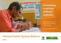 The mental health reform of Brazil shifted care from institutions to community services, primary care and residential and social support programmes through the following: Deinstitutionalization Negotiation with municipalities and states to replace the beds in psychiatric hospitals for community-based mental health services and psychiatric beds in general hospitals Creation of Therapeutic Residential Services for deinstitutionalization of long-stay psychiatric patients Community services