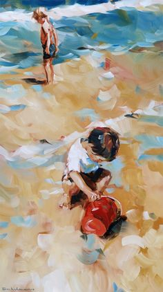 'Sur la plage', 2013 by Dorus Brekelmans #art