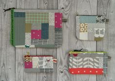 Tutorial: Quilt as you go for a zipper pouch...s.o.t.a.k handmade: quilt as you go {a quick how to}