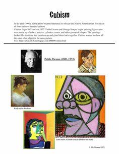 Ellenville Elementary Art Studio: Worksheets