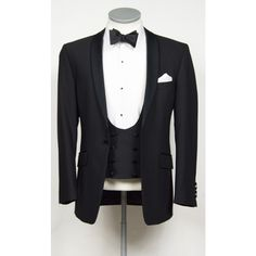 Shawl collar dinner suit made to measure