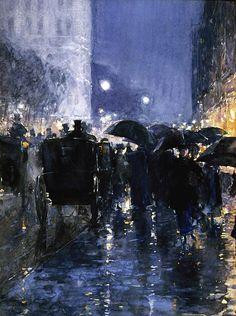 Childe Hassom, American Impressionist