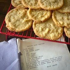 Live Laugh Chicky Potato Chip Cookies, Potato Chips, Potatoes, Live, Potato, Potato Chip, Chips