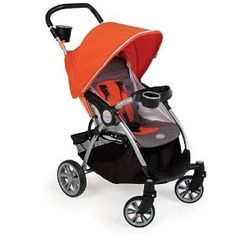 $58.49  I really like this Kolcraft contours stroller. But it is probably still large for the trunk....