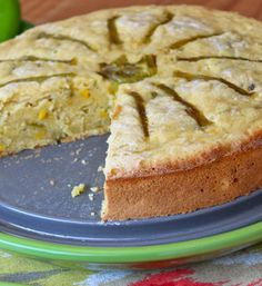 Hatch Chile Corn Cake