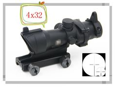 68.96$  Watch now - http://aliaop.worldwells.pw/go.php?t=32701976595 - Tactical 4x32 Triji Style Crosshair Rifle Scope Optics with Lron Sights 20mm Weaver Picatinny Rail Mounts For Hunting Riflescope
