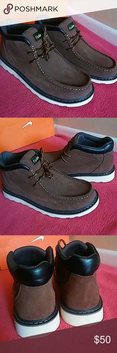 New Fashion Oil Resiatant Boot/Sneakers Brand New without box...Country of maufacture is not known but highly quality boot with genuine leather/soft suede/both. Its MEN SIZE 9 and WOMEN SIZE 12. Fashion Shoes Sneakers