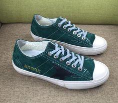https://www.goldengoosesneakers.fr/  459 : Sneakers Golden Goose V Star Femme Sneakers GGDB Blanc Vert FonceQLUfdlh