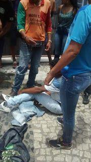 NONATO NOTÍCIAS: Homem foi esfaqueado  no centro comercial de Senho...