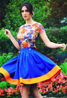blue cotton skirt #995nojeans #995fashion #cottonskirt #skirt #fashion #style