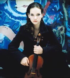 Hillary Hahn | ... : Grammy Award–winning violinist Hilary Hahn is 33-years-old today