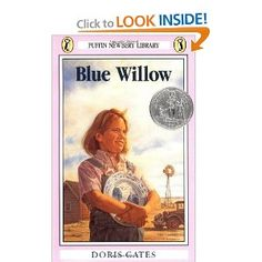 Realistic fiction could be incorporated into the Dust Bowl unit by doing a literature study of Blue Willow by Doris Gates. This novel is about a young girl who holds onto the blue willow plate because it is all she has left of the childhood she once knew. Love Book, This Book, Beautiful Feet Books, Blue Willow China, Historical Fiction Books, California History, Central California, Dust Bowl, Important Life Lessons