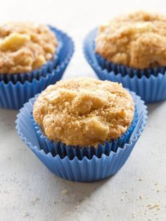 Muffins are incredibly moist and full of cinnamon apple flavor. These are a tried and true favorite!Apple Muffins are incredibly moist and full of cinnamon apple flavor. These are a tried and true favorite! Fruit Recipes, Muffin Recipes, Apple Recipes, Fall Recipes, Baking Recipes, Dessert Recipes, Yummy Recipes, Kid Recipes, Brunch Recipes