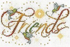 Friends Cross Stitch Kit 2876
