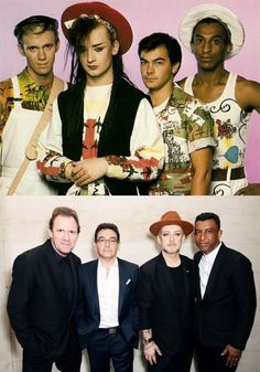 WOW! Culture Club Then & Now! Which look do you prefer on them?