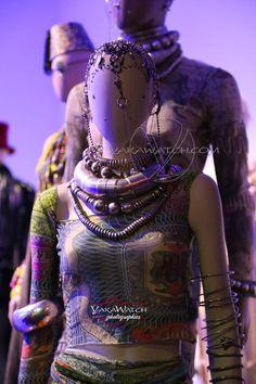 """Collection """"Les tatouages"""" 1994 - Exposition Jean Paul Gaultier - Grand Palais - Paris"""