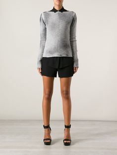 Grey cashmere sweater from N28