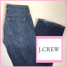 J. CREW Hipslung Jeans 26Short J. Crew Hipslung jeans in 26S. Straight leg. Low-rise. Minor fraying at the hem. Great Condition! 206201635 J. Crew Jeans Straight Leg
