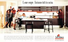 1985 Arclinea advertisement