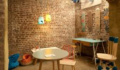 Platform at the subterranean House of Detention, a former Victorian prison, showcasing up-and-coming UK and international design talent. Victorian Prison, Kitchen Units, Platform, House, London, Furniture, Design, Home Decor, Kitchen Furniture