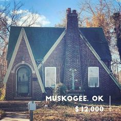 Cheap Old Houses On Instagram 303 Baltimore Ave Muskogee Ok You Guys I Just Died And Went To Cheap Old Hous In 2020 Old Houses Old Houses For Sale Cheap Houses