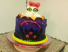 Girly Mummy Halloween cake