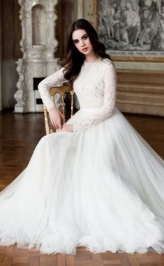 30 Awesome Wedding Dresses for Muslims 2015 #modestweddingdresses