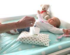 Feuchttüchertasche von Bunny Kids - Feuchttücherhülle und Windeltasche in einem - das originelle Geschenk zur Geburt