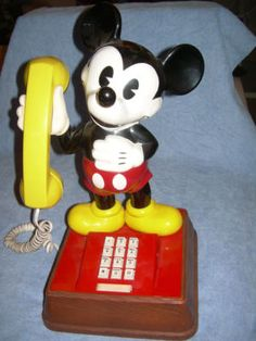 Details About 11 Quot Vintage Walt Disney World Illco Mickey