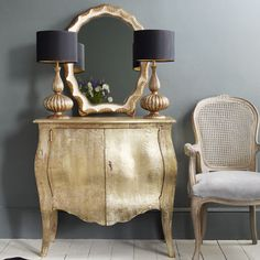 A great piece to turn into a bathroom vanity