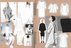 Fashion Sketchbook - fashion design drawings; creative process; fashion portfolio // Alexandra Canter