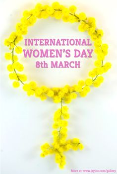 Jeyjoo Images: International women's day - the venus symbol in mimosa. Download free stock images