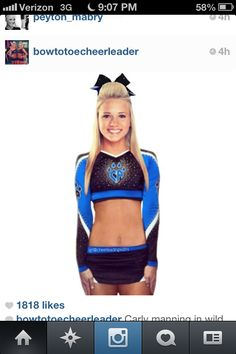 A very cute cheerleading uniform I want but can't have