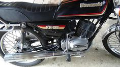Gutsy 22 year old Kawasaki KH125 for sale