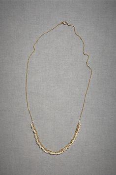 dogeared 100 pearls necklace  | Nuptialista.com