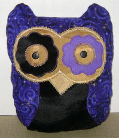 Decorative Purple and Black Owl Pillow by kalenescustomgifts, $23.00 check us out over at our sister shop kalenescustomgifts   on Etsy.......